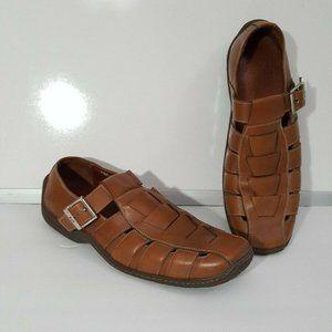 Donald J Pliner Eddy I20 Woven Loafers Sandal 9.5M